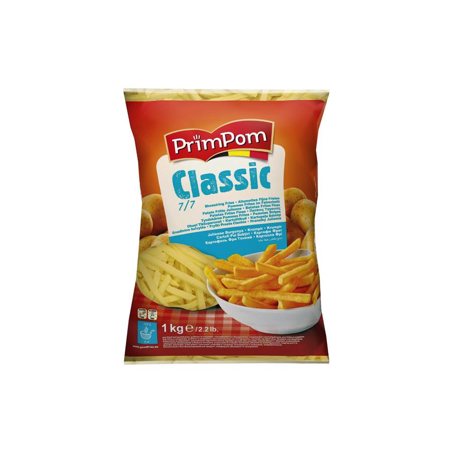 Productafbeelding Fijne frieten 7/7 - 1 kg (allumettes) - Classe Slager